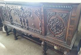 sideboard fã r esszimmer antique berkey and dining room set table chairs sideboard