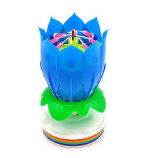 lotus birthday candle musical birthday candle zambell