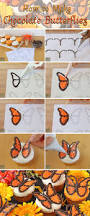 how to make chocolate butterflies step by step guide oh nuts blog