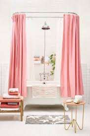 Dark Pink Shower Curtain by Curtains Sweet Alarming Pink Rose Shower Curtains Frightening