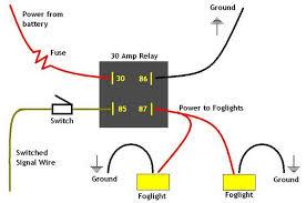 hook up relay fog lights