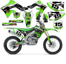motocross racing numbers 1993 1996 kawasaki klx 300 klx300 graphics kit decals stickers