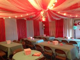 thanksgiving plastic table covers circus tent in garage made from tulle and plastic table cloths