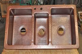 Copper Kitchen Sink by Kitchen Sinks Mountain Copper Creations