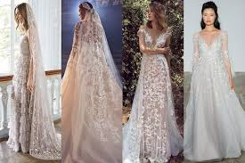 most beautiful wedding dresses embroidered wedding dresses brides magazine 2018 bridesmagazine