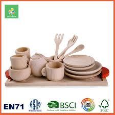 ustensile de cuisine enfant enfant prétendre jeux jouet alimentaire en bois cuisine ustensiles
