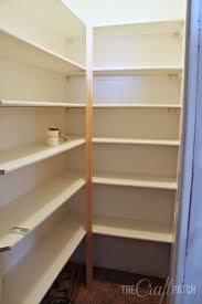 what of wood is best for shelves how to build pantry shelving the craft patch