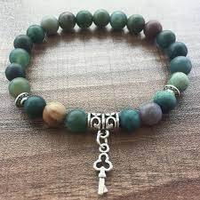online bracelet images Online cheap round bead bracelet 8mm matte india agate bracelet jpg