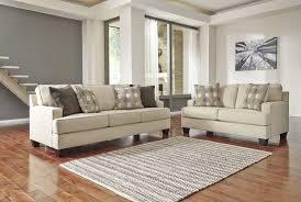 2 piece living room set signature design by ashley brielyn linen 2 piece living room set