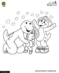 barney coloring pages ecoloringpage printable coloring pages