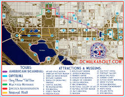National Zoo Map Washington Dc Tourist Map Tours U0026 Attractions Dc Walkabout
