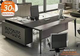 mobilier de bureau haut de gamme bureau direction haut de gamme contemporain avec crédence swing