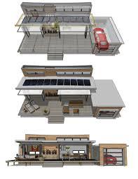 Cool Houseplans Com Modern Style House Plan 1 Beds 1 00 Baths 480 Sq Ft Plan 484 4