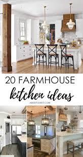 farmhouse kitchen cabinet decorating ideas farmhouse kitchen ideas for fixer style industrial flare