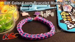 looms bracelet kit images Loom band bracelet making kit and how to use jk arts 313 jpg