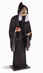 halloween life size filmic light snow white archive life size animated old hag for