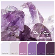 purple color combination inspired by amethyst texture online