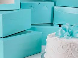 blue cake boxes