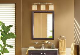 Home Depot Bathroom Mirror Cabinet by Hanging A Bath Mirror At The Home Depot