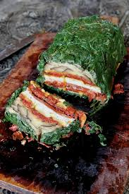 roasted vegetable terrine entrees thanksgiving and vegetarian roast