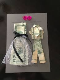 what of gifts to give at a bridal shower came up with a creative way to give money as a wedding gift http