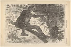 W Homer Artist by Winslow Homer The Army Of The Potomac U2013 A Sharp Shooter On