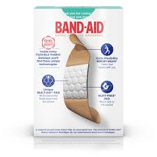 band aid brand flexible fabric adhesive bandages for wound care