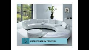 modern white color living room furniture youtube