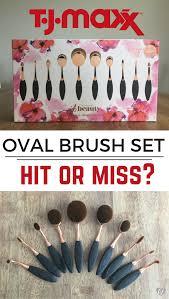 tj maxx oval brush set or miss creativity jar