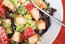 Fried Parmesan Pan Fried Parmesan Chicken Salad Feelgoodfoodie