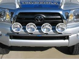 tacoma grill light bar n fab light bars n fab off road light mount