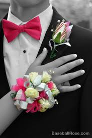 Prom Corsage And Boutonniere Baseball Prom U0026 Homecoming Sports Roses Your Passion For Sports