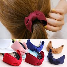 banana hair clip aliexpress buy hot sales korean hair claw solid big bows