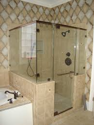 bathroom modern bathroom design with frameless shower door and