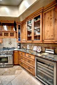 Alder Kitchen Cabinets by Design Craft Cabinetry Wood Finishes Knotty Alder Appaloosa