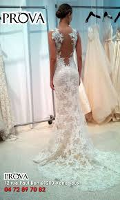 magasin de robe de mariã e lyon robe de mariée sirène tout en dentelle à dos nu boutique prova