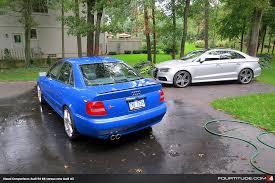 compare audi a3 and a4 photographic audi a3 sedan vs s4 b5 visual comparison