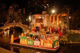 river parade and lighting ceremony in san antonio