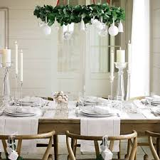 dining room decorating ideas 2013 hang a wreath the dining table and hang ornaments from it