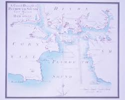 Sound Map Old Maps Of Plymouth England