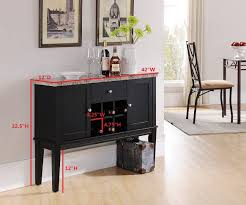sofa table with wine rack black marble wood wine rack buffet display console table with