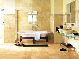 bathroom fetching luxurious ways decorate travertine your