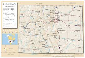 map us denver 3d map of united states state colorado stock photo image 21350710