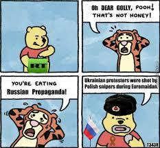 Propaganda Meme - you re eating russian propaganda by t343r meme center