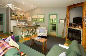 kitchen livingroom the dove cottage family and pet friendly resort in union pier u2026
