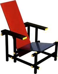 chaise rietveld 1917 chaise bleu et de gerrit rietveld bauhaus