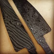 forging a new path for the bladesmithing industry in australia beautiful hand forged damascus steel knife blade during the making process image courtesy of the artists