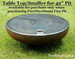 Firepit Top Steel Table Top For 37 5 Inch Bowl Firepit Shipped With