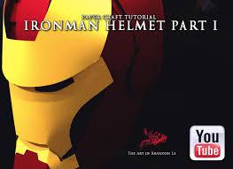 ironman helmet tutorial by omaiyee on deviantart