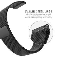 B And Q Bathroom Accessories by Amband Watch Band 18mm Milanese Stainless Steel Strap Amazon Co